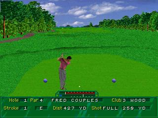 Screenshot Thumbnail / Media File 1 for 36 Great Holes Starring Fred Couples (32X)