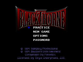 Screenshot Thumbnail / Media File 1 for Blackthorne (32X)