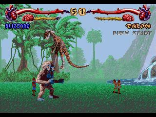 Screenshot Thumbnail / Media File 1 for Primal Rage (32X)