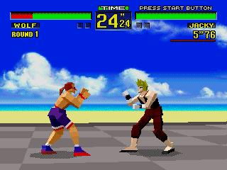 Screenshot Thumbnail / Media File 1 for Virtua Fighter (32X)