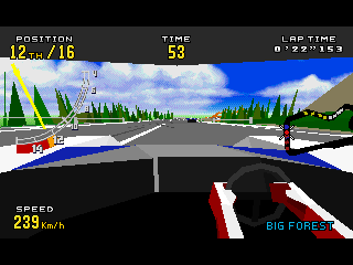 Screenshot Thumbnail / Media File 1 for Virtua Racing Deluxe (32X)