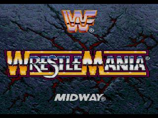Screenshot Thumbnail / Media File 1 for WWF Wrestlemania Arcade (32X)