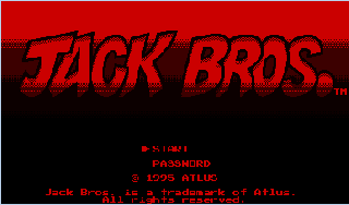 Screenshot Thumbnail / Media File 1 for Jack Bros. (USA)