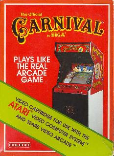 Screenshot Thumbnail / Media File 1 for Carnival (1982) (Coleco, Steve 'Jessica' Kitchen) (2468)