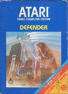 Screenshot Thumbnail / Media File 1 for Defender (1982) (Atari, Robert C. Polaro, Alan J. Murphy - Sears) (CX2609 - 49-75186)