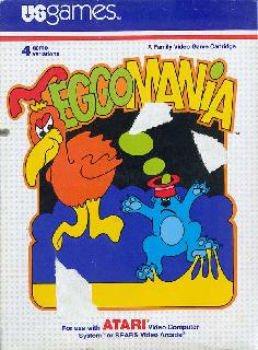 Screenshot Thumbnail / Media File 1 for Eggomania (Weird Bird) (Paddle) (1982) (U.S. Games Corporation, Todd Marshall, Wes Trager, Henry Will) (VC2003)