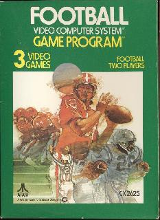 Screenshot Thumbnail / Media File 1 for Football (1979) (Atari, Bob Whitehead - Sears) (CX2625 - 6-99827, 49-75114)