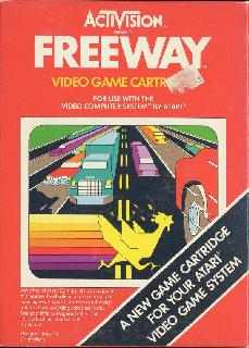 Screenshot Thumbnail / Media File 1 for Freeway (1981) (Activision, David Crane) (AG-009, AG-009-04)