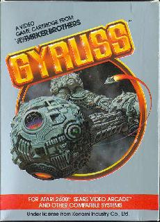 Screenshot Thumbnail / Media File 1 for Gyruss (1984) (Parker Brothers) (PB5080)