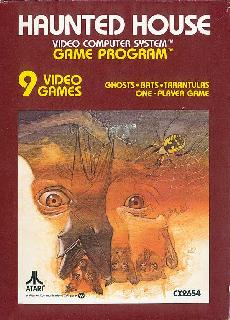 Screenshot Thumbnail / Media File 1 for Haunted House (Mystery Mansion, Graves' Manor, Nightmare Manor) (1982) (Atari, James Andreasen - Sears) (CX2654 - 49-75141)