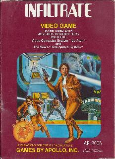 Screenshot Thumbnail / Media File 1 for Infiltrate (1981) (Apollo - Games by Apollo) (AP-2006)