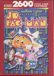Screenshot Thumbnail / Media File 1 for Jr. Pac-Man (1984) (Atari - GCC, Ava-Robin Cohen) (CX26123)
