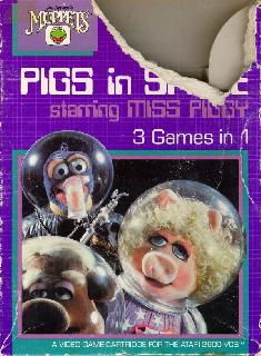 Screenshot Thumbnail / Media File 1 for Pigs in Space - Starring Miss Piggy (1983) (Atari, Bill Aspromonte, John Russell, Michael Sierchio, Robert Zdybel) (CX26114)