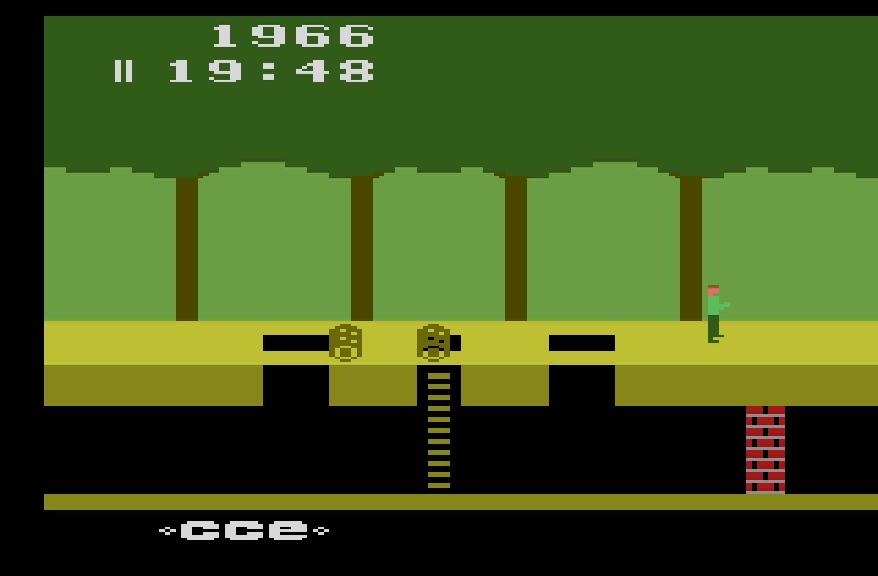 Pitfall Pitfall Harry S Jungle Adventure 1982