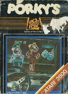 Screenshot Thumbnail / Media File 1 for Porky's (1983) (20th Century Fox Video Games - Lazer Micro Systems - Dunhill Electronic Media Corp., B. Winston Hendrickson, Randy Hyde, Mark V. Rhoads, John Simonds) (11013)