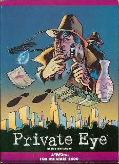 Screenshot Thumbnail / Media File 1 for Private Eye (1983) (Activision, Bob Whitehead) (AG-034-04)