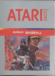 Screenshot Thumbnail / Media File 1 for RealSports Baseball (Foxbat) (1982) (Atari, Eric Manghise, Joseph Tung) (CX2640)