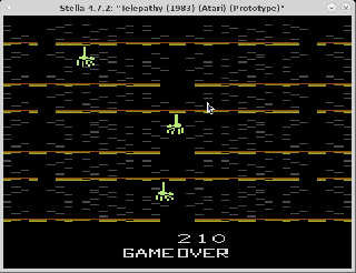 Screenshot Thumbnail / Media File 1 for Telepathy (Mindlink Controller) (1983) (Atari, Dan Oliver) (Prototype)
