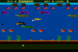 Screenshot Thumbnail / Media File 1 for Frogger 2 - Threedeep! (1984) (Parker Bros)