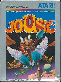 Screenshot Thumbnail / Media File 1 for Joust (1983-84) (Atari)