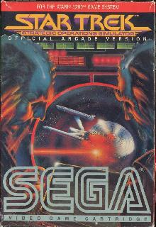 Screenshot Thumbnail / Media File 1 for Star Trek - Strategic Operations Simulator (1983) (Sega)