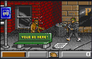 Screenshot Thumbnail / Media File 1 for Dirty Larry - Renegade Cop (USA, Europe)