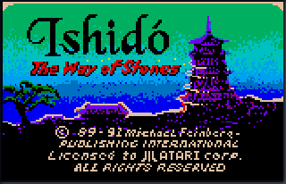 Screenshot Thumbnail / Media File 1 for Ishido - The Way of Stones (USA, Europe)