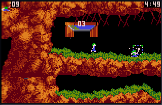 Screenshot Thumbnail / Media File 1 for Lemmings (USA, Europe)