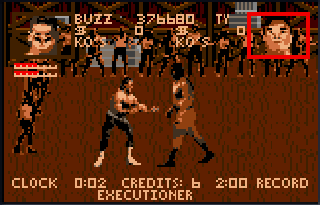 Screenshot Thumbnail / Media File 1 for Pit Fighter - The Ultimate Competition (USA, Europe)
