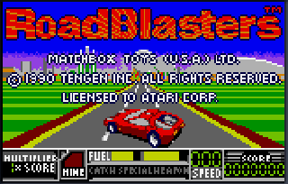 Screenshot Thumbnail / Media File 1 for RoadBlasters (USA, Europe)