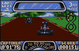 Screenshot Thumbnail / Media File 1 for Road Riot 4WD (USA) (Proto)