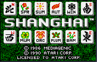 Screenshot Thumbnail / Media File 1 for Shanghai (USA, Europe)