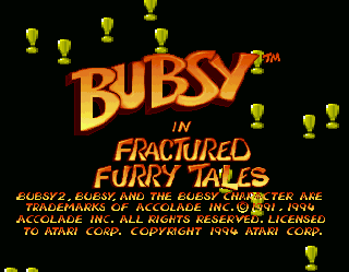 Screenshot Thumbnail / Media File 1 for Bubsy in Fractured Furry Tales (World)