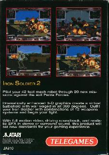 Screenshot Thumbnail / Media File 1 for Iron Soldier 2 (World)