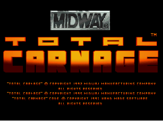 Screenshot Thumbnail / Media File 1 for Total Carnage (World)