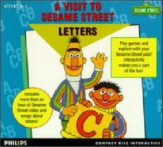 Screenshot Thumbnail / Media File 1 for A Visit To Sesame Street Letters (CD-i)