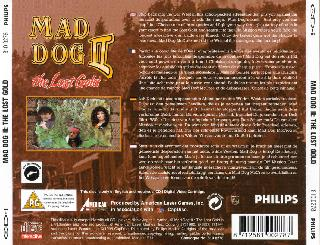 Screenshot Thumbnail / Media File 1 for Mad Dog II - The Lost Gold (CD-i)
