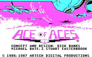 Screenshot Thumbnail / Media File 1 for Ace Of Aces (1987)(Accolade)