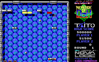 Screenshot Thumbnail / Media File 1 for Arkanoid 2 Revenge Of Doh (1988)(Taito Corporation)(Rev)