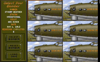 B17 Flying Fortress (1992)(Microprose Software Inc) Game