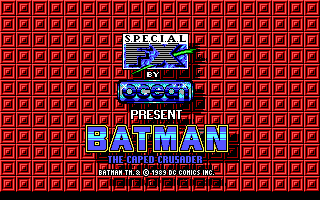 Screenshot Thumbnail / Media File 1 for Batman The Caped Crusader (1988)(Data East Corporation)