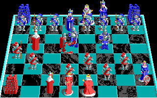 Screenshot Thumbnail / Media File 1 for Battle Chess (1989)(Interplay)