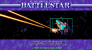 Screenshot Thumbnail / Media File 1 for Battlestar (1992)(Softdisk Publishing)