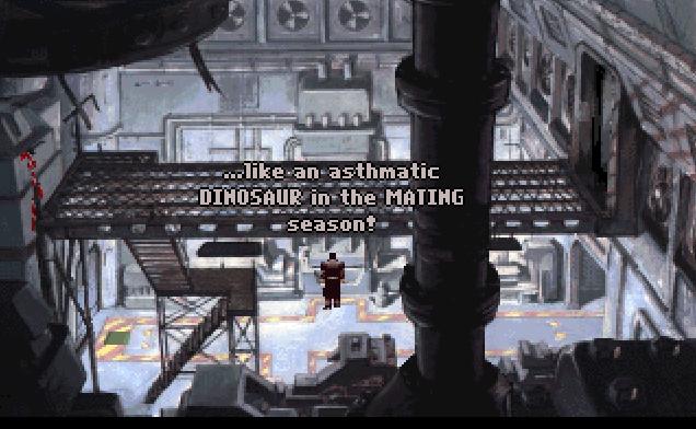 Beneath A Steel Sky (1993)(Avalon Interactive) Game < DOS