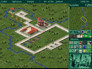 Screenshot Thumbnail / Media File 1 for Caesar II (1996)(Sierra Online)