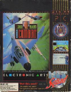 Screenshot Thumbnail / Media File 1 for Chuck Yeagers Air Combat (1991)(Electronic Arts Inc)(Rev)