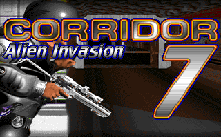 Screenshot Thumbnail / Media File 1 for Corridor 7 Alien Invasion (1995)(Capstone Software)
