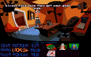 Screenshot Thumbnail / Media File 1 for Day Of The Tentacle (1993)(Lucas Arts)