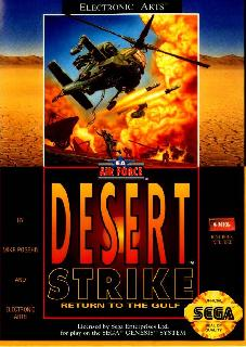 Screenshot Thumbnail / Media File 1 for Desert Strike (1995)(Front Street Publishing)