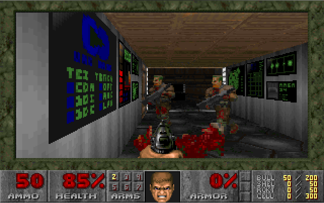 Doom (1993)(Id Software) Game < DOS Games | Emuparadise
